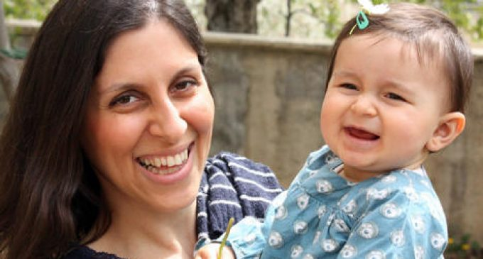 "Charity worker Ratcliffe serving 5 yrs on charges of ""toppling Iran's regime"" is charged a 2nd time"