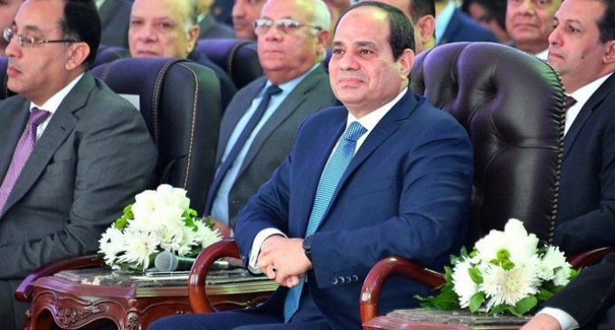 Egyptian president sworn in for a second term
