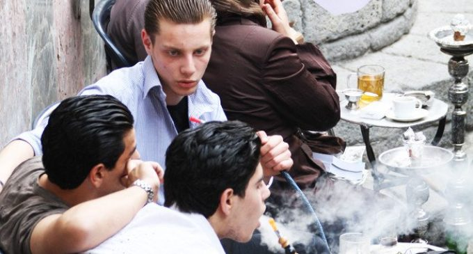 Pipes of peace: Timeless Shisha ritual helps young Syrians escape the pain of war
