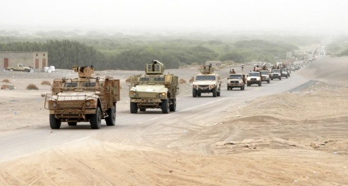 Arab coalition liberates town from Houthis