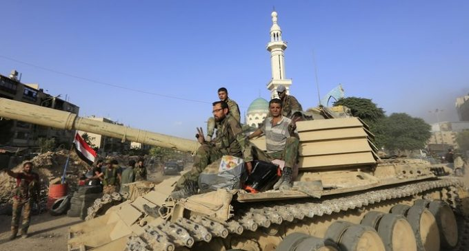 Hezbollah-run media: Syrian army advances against rebels in southwest
