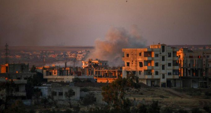 Fighting in Syria's south escalates, displaces 50,000 people