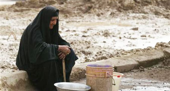 Iraq's water shortage means a suspension of crop cultivation