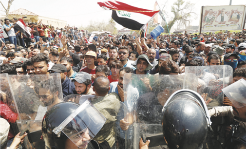 How political forces fueled the spread of Iraq protests