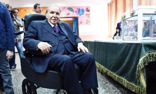 Algerians may well see their frail leader who rarely appears in public