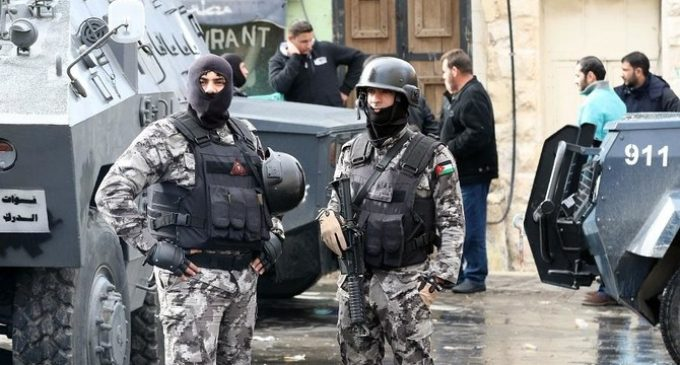 Jordan: A policeman was killed and six injured by an explosive device