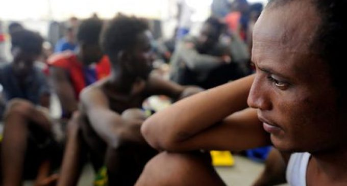 Humanitarian ship rescues 141 migrants in first mission since row with Italy