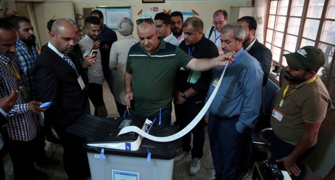 Iraq's election commission completed a manual recount of May's parliamentary election