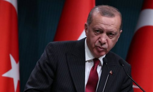 Turkey's Erdogan says attack on economy no different from attack on flag