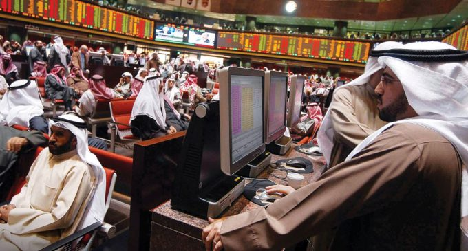 Gulf stocks opened in negative territory on Sunday reflecting general weakness