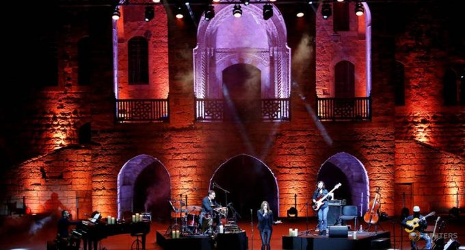 Lebanon's captivating music celebrations battle in extreme circumstances