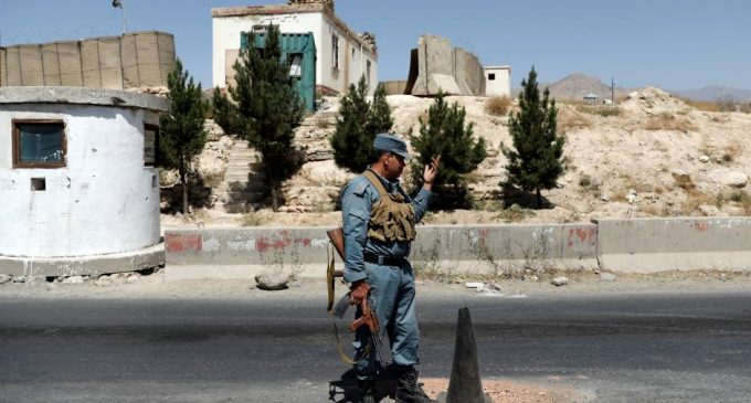 Fighting continued around Ghazni in central Afghanistan