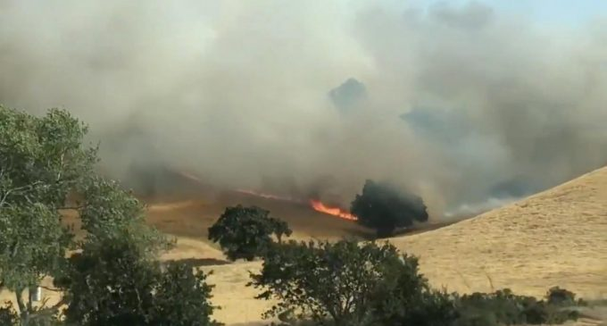 The largest fire on record in California